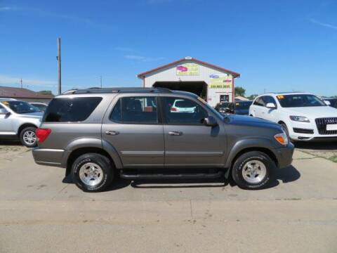 2005 Toyota Sequoia for sale at Jefferson St Motors in Waterloo IA