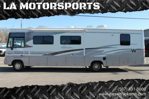 2002 Winnebago Adventurer for sale at LA MOTORSPORTS in Windom MN