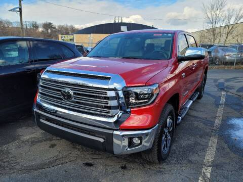 2020 Toyota Tundra for sale at AW Auto & Truck Wholesalers  Inc. in Hasbrouck Heights NJ