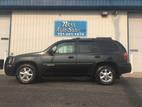 2005 GMC Envoy for sale at NESS AUTO SALES in West Fargo ND