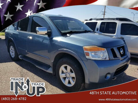 2011 Nissan Armada for sale at 48TH STATE AUTOMOTIVE in Mesa AZ