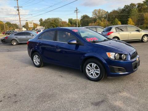 2013 Chevrolet Sonic for sale at Bob's Imports in Clinton IL