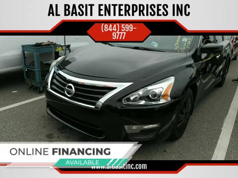 2015 Nissan Altima for sale at AL BASIT ENTERPRISES INC in Riverside CA