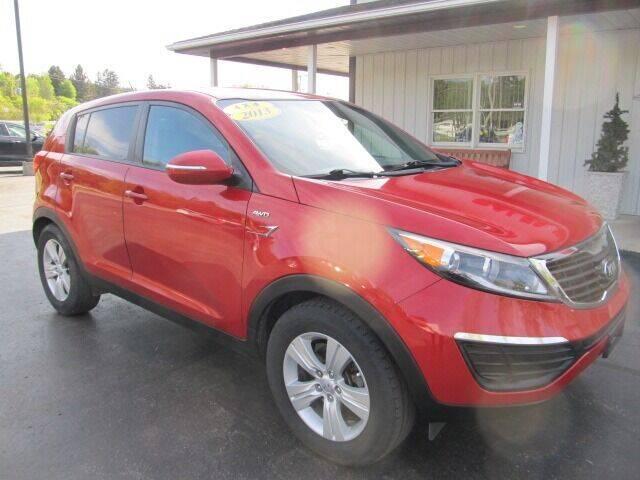 2013 Kia Sportage for sale at Thompson Motors LLC in Attica NY