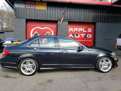 2012 Mercedes-Benz C-Class for sale at Apple Auto Sales Inc in Camillus NY