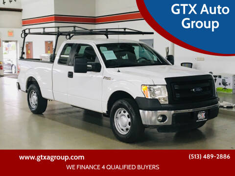 2014 Ford F-150 for sale at GTX Auto Group in West Chester OH