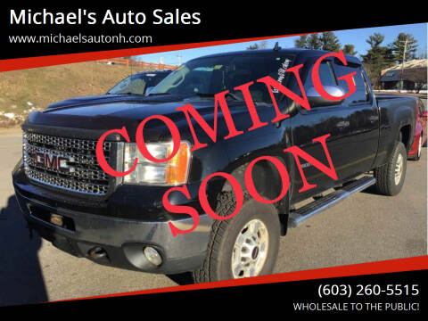2011 GMC Sierra 2500HD for sale at Michael's Auto Sales in Derry NH