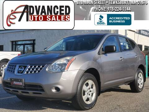 2009 Nissan Rogue for sale at Advanced Auto Sales in Tewksbury MA