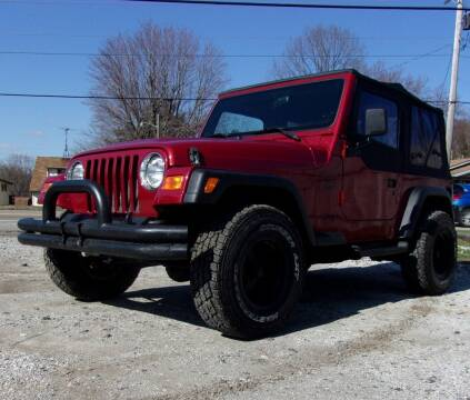 1999 Jeep Wrangler for sale at JEFF MILLENNIUM USED CARS in Canton OH