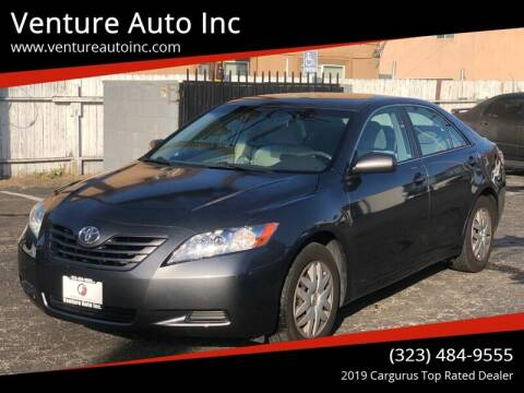 2008 Toyota Camry for sale at Venture Auto Inc in South Gate CA