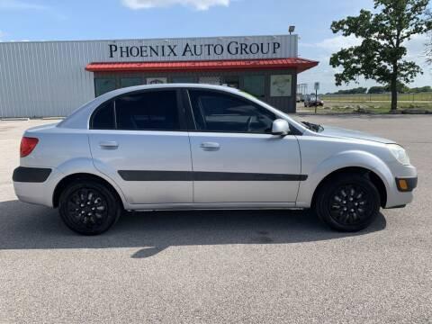 2008 Kia Rio for sale at PHOENIX AUTO GROUP in Belton TX