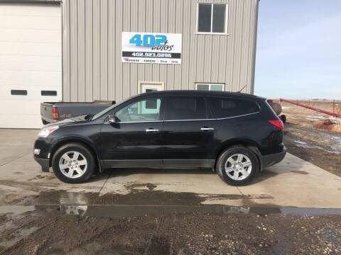 2010 Chevrolet Traverse for sale at 402 Autos in Lindsay NE