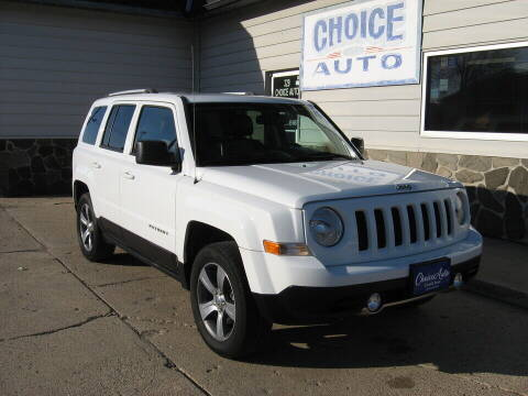 2016 Jeep Patriot for sale at Choice Auto in Carroll IA
