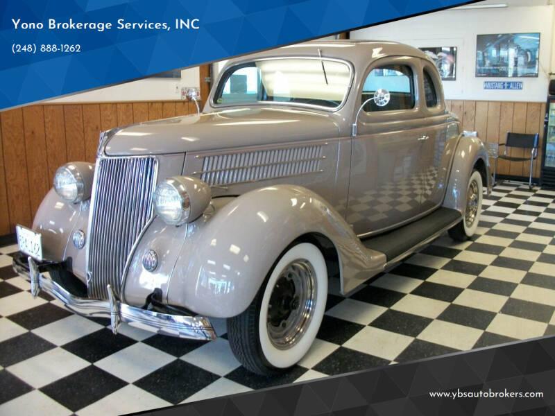 1936 Ford Model 68 for sale at Yono Brokerage Services, INC in Farmington MI