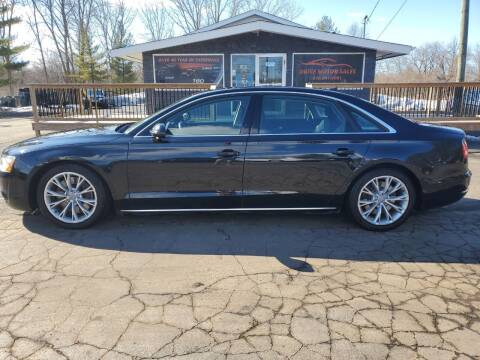 2011 Audi A8 L for sale at Drive Motor Sales in Ionia MI