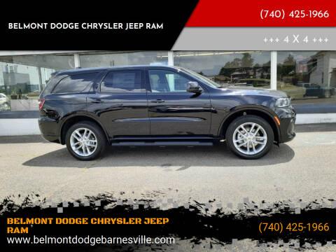 2021 Dodge Durango for sale at BELMONT DODGE CHRYSLER JEEP RAM in Barnesville OH