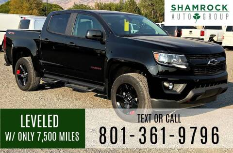 2018 Chevrolet Colorado for sale at Shamrock Group LLC #1 in Pleasant Grove UT