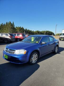 2014 Dodge Avenger for sale at Jeff's Sales & Service in Presque Isle ME