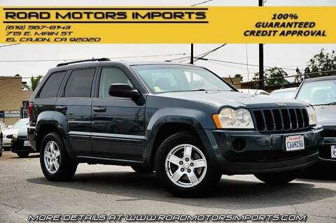 2007 Jeep Grand Cherokee for sale at Road Motors Imports in El Cajon CA