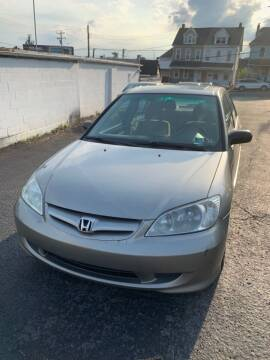 2004 Honda Civic for sale at Butler Auto in Easton PA