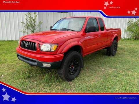 2002 Toyota Tacoma for sale at Affordable Auto Spot in Houston TX
