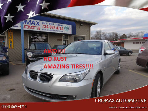 2010 BMW 5 Series for sale at Cromax Automotive in Ann Arbor MI