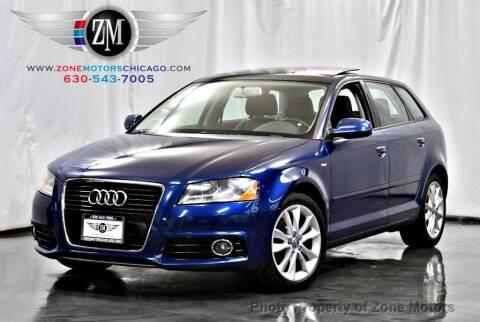 2012 Audi A3 for sale at ZONE MOTORS in Addison IL