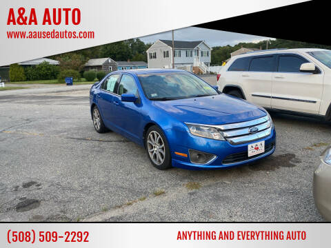 2012 Ford Fusion for sale at A&A AUTO in Fairhaven MA