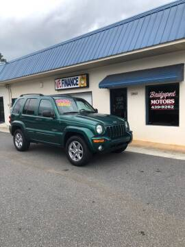 2004 Jeep Liberty for sale at BRIDGEPORT MOTORS in Morganton NC