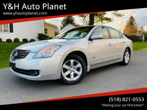 2009 Nissan Altima Hybrid for sale at Y&H Auto Planet in West Sand Lake NY