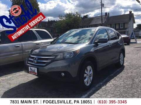 2013 Honda CR-V for sale at Strohl Automotive Services in Fogelsville PA