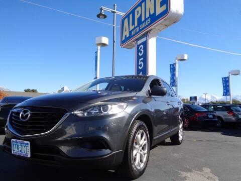 2015 Mazda CX-9 for sale at Alpine Auto Sales in Salt Lake City UT