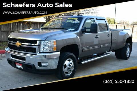 2013 Chevrolet Silverado 3500HD for sale at Schaefers Auto Sales in Victoria TX
