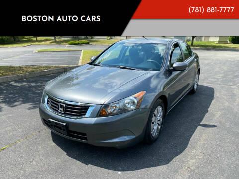 2010 Honda Accord for sale at Boston Auto Cars in Dedham MA