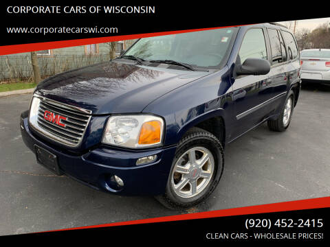 2008 GMC Envoy for sale at CORPORATE CARS OF WISCONSIN in Sheboygan WI