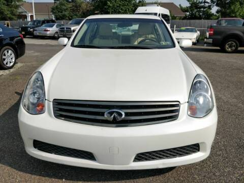 2006 Infiniti G35 for sale at 5 Star Auto Sales & Service in Delran NJ