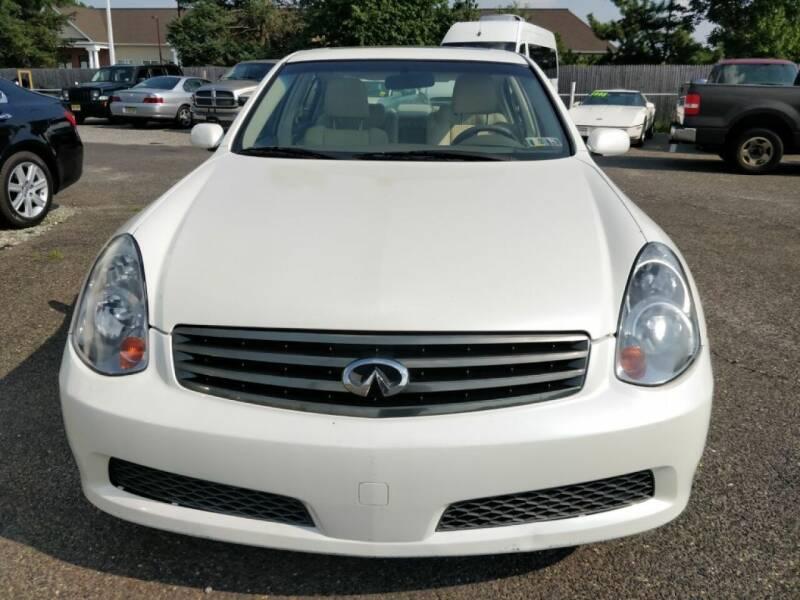 2006 Infiniti G35 for sale at 5 Star Auto Sales & Service in Delran NJ