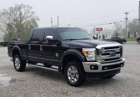 2015 Ford F-250 Super Duty for sale at COOPER AUTO SALES in Oneida TN