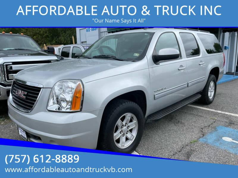 2011 GMC Yukon XL for sale at AFFORDABLE AUTO & TRUCK INC in Virginia Beach VA