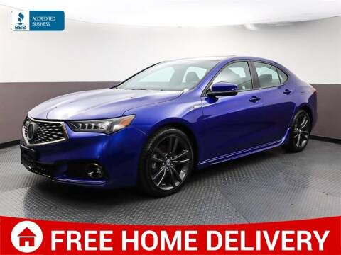 2018 Acura TLX for sale at Florida Fine Cars - West Palm Beach in West Palm Beach FL