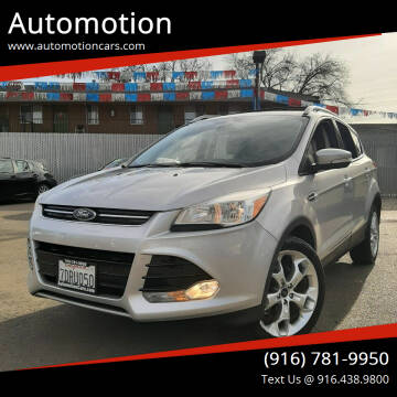 2014 Ford Escape for sale at Automotion in Roseville CA
