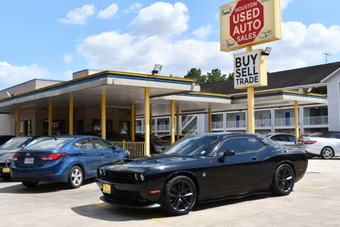 2019 Dodge Challenger for sale at Houston Used Auto Sales in Houston TX