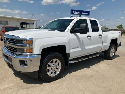 2015 Chevrolet Silverado 2500HD for sale at Keller Motors in Palco KS