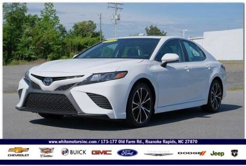 2018 Toyota Camry for sale at WHITE MOTORS INC in Roanoke Rapids NC