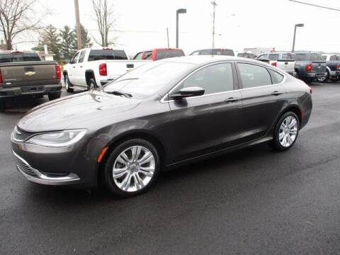 2016 Chrysler 200 for sale at FINAL DRIVE AUTO SALES INC in Shippensburg PA