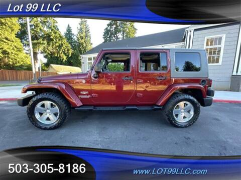 2009 Jeep Wrangler Unlimited for sale at LOT 99 LLC in Milwaukie OR