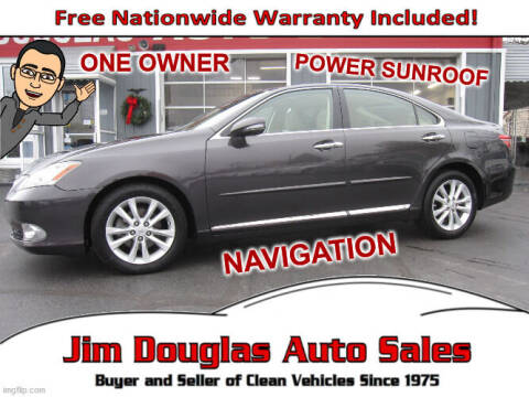 2010 Lexus ES 350 for sale at Jim Douglas Auto Sales in Pontiac MI