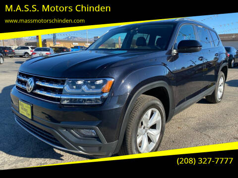 2019 Volkswagen Atlas for sale at MASS Motors West Fairview in Boise ID