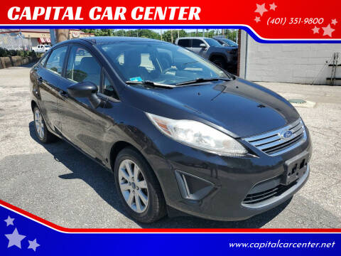 2012 Ford Fiesta for sale at CAPITAL CAR CENTER in Providence RI