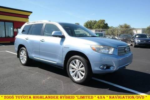 2008 Toyota Highlander Hybrid for sale at L & S AUTO BROKERS in Fredericksburg VA
